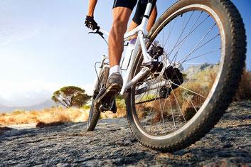 Radsport - Sportler auf dem Rennrad