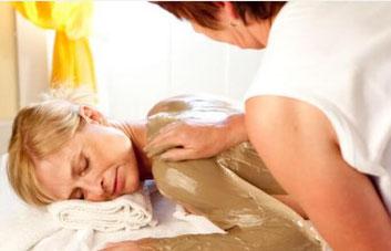 Fango bei Massage