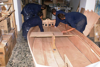 Paper8 faltbares Segelboot