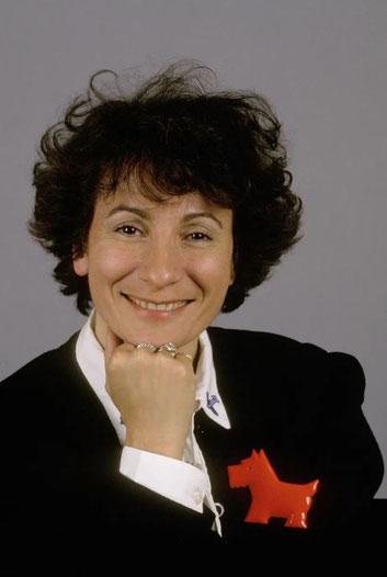 La chanteuse française Marie Paule Belle en 1988• Crédits : Gilles BASSIGNAC/Gamma-Rapho - Getty