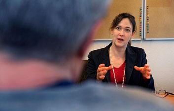 """""""Ein Verwaltungsrat sollte sich aus verschiedenen Spezialisten zusammensetzen"""", sagt die Gewerkschafterin."""