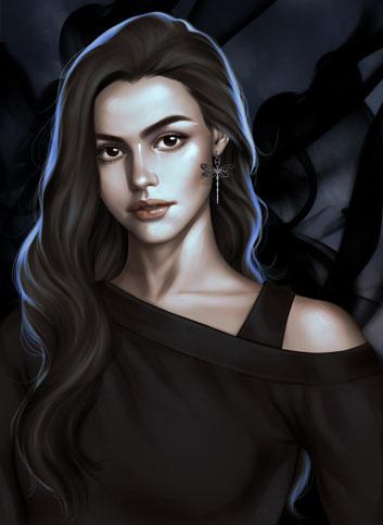 Illustratorin: Salome Totladze (@morgana0anagrom)