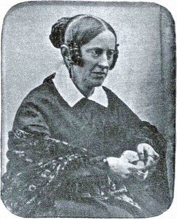 Daguerrotypie: Friedrich Hundt, 1845