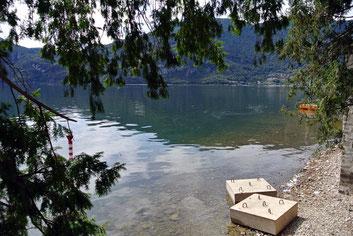Am Ufer des Lago di Como