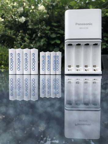 Panasonic Eneloop Schnellladegerät