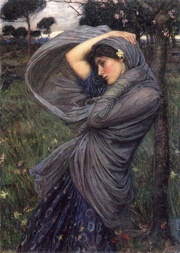 Boreas de W. Waterhouse.