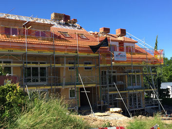 Braas Ziegel, Unterdach mit Gyso Folie, Dacheindeckung Umdeckung Erlinsbach