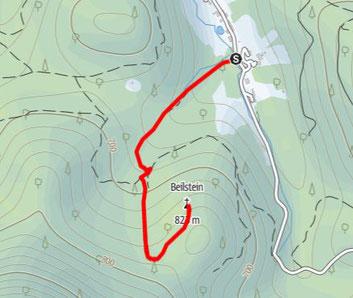 Wanderung Beilstein, Almtal