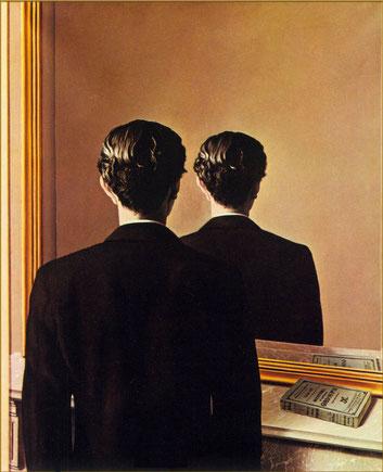 """Magritte, """"Un gioco di specchi"""" (1937)"""
