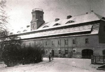 Das Turmgebäude 1941.