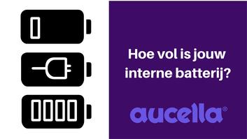 Hoe vol zit jouw interne batterij momenteel?