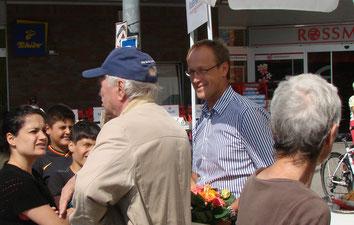 Bürgermeister vor Ort