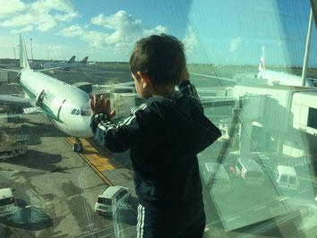 In partenza! Volo AZ608 per JFK