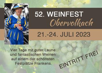 Termin Obervolkacher Weinfest