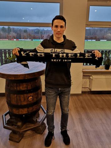 Damian Lorenz (19) - Neuzugang des VfB Theley