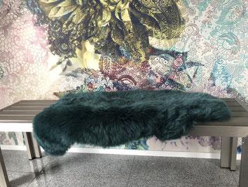Großes echtes Lammfell für Sitzbank