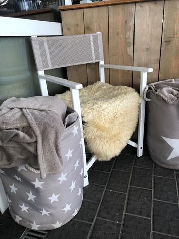 Sitzfell für Stühle