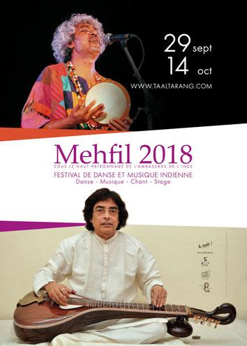affiche mehfil 2018