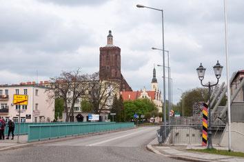 Guben - Gubin, Frankfurter Strasse
