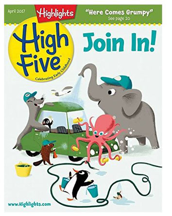 High Five magazine for preschoolers