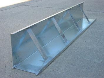 Schalbewehrung aus Aluminium