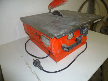 Fliesennaßschneidemaschine 55 KW