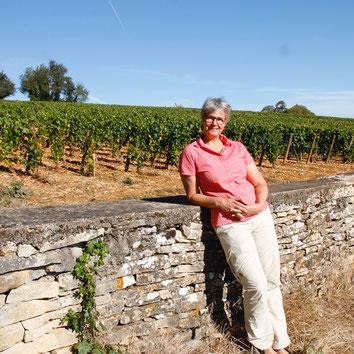 Karoline Knoth - Guide Conférencière - Weinfachfrau aus Franken in Meursault - Burgund