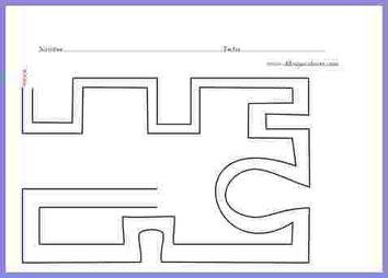 grafo-motricidad  caminos