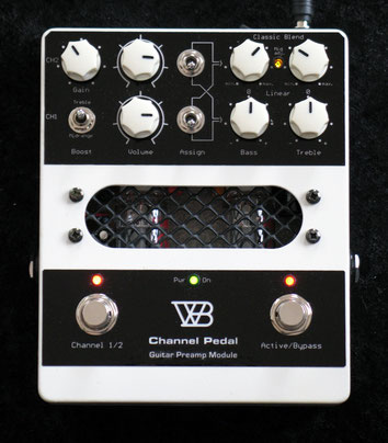 Channel-Pedal, Guitar Preamp