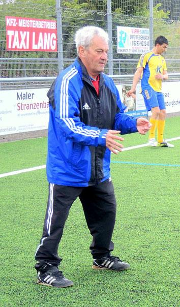 Trainer mit Leidenschaft: Fredi Hennecken. Vor Anfang an dabei.