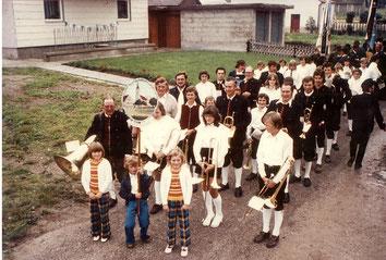 Musikverein Tussenhausen 1975
