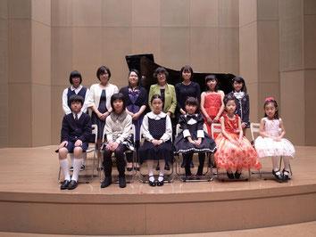 ピアノ教室「高崎の森」生徒さん