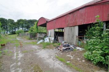 アイルランド 田舎 納屋
