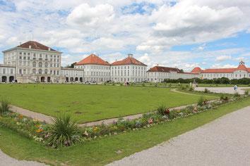 Park von Schloss Nymphenburg.  -  Fotos: Hans Koch
