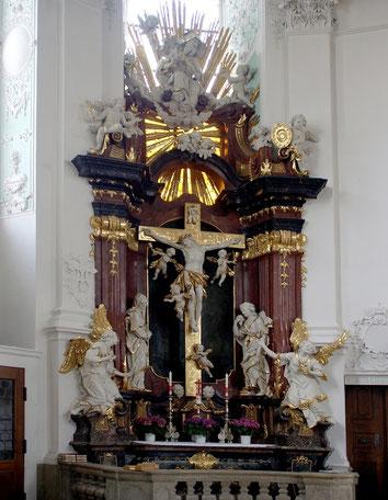 Altar in Vierzehnheiligen