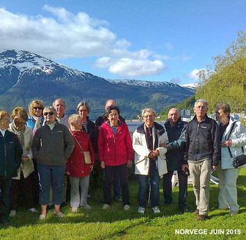 Voyage en Norvège 2015