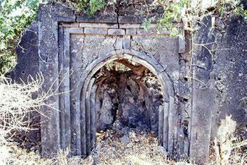 Mwana. Piccola moschea in rovina