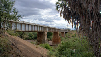 Patterson's Bridge on Tsavo River