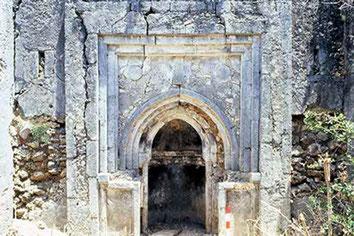 Mwana. Moschea a medaglioni tondi