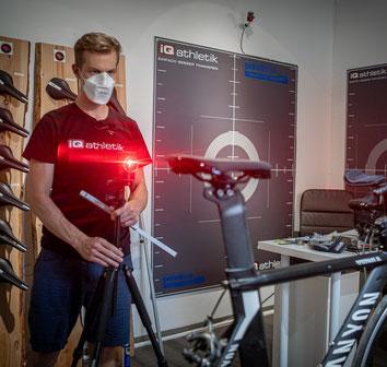 Bikefitting - Fahrrad richtig eingestellt