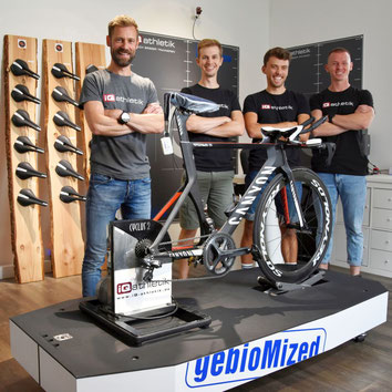 Bikefitter-Team aus dem concept-lab Frankfurt