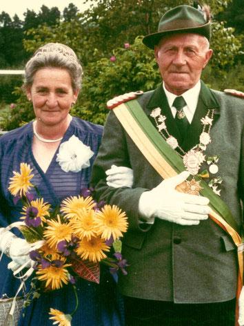 40-jähriges Jubelpaar
