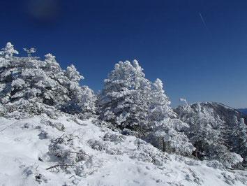 はじめての雪山