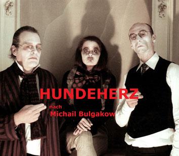"""Markus Hummel, Sonja Graf, Robert Stuc, """"Hundeherz"""", ToFuT, 2012, Foto: S & W. Kunst"""
