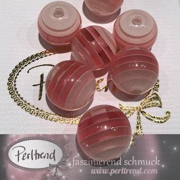 Perlen www.perltrend.com Jewel  Jewellery Jewelry Schmuck Luzern Schweiz Online Shop Acrylperlen Acryl DIY basteln Schmuckdesign Dekoration  gestreift Streifen