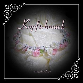 www.perltrend.com Kopfschmuck Kränzli Kommunionskränzli