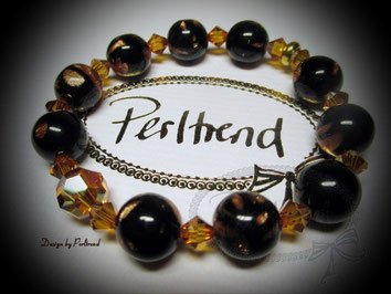 www.perltrend.com Armschmuck Orenda Armband Bracelet Schmuck Jewellery Jewelry Arm Schmuck Black Copper schwarz kupfer Perltrend Luzern Onlineshop
