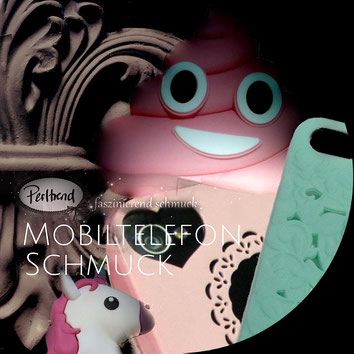 www.perltrend.com Mobiltelefonschmuck Natel Smartphone Accessoires Perltrend Luzern Schweiz Onlineshop Schmuck Perlen Accessoires