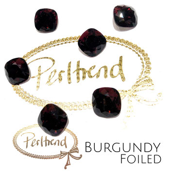 Perltrend Luzern Schweiz Onlineshop Schmuck Perlen Accessoires Verarbeitung Design Swarovski Crystals Crystal original Fancy Stones Cabochons Round Square Cushion 4470 12 mm Burgundy