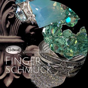 www.perltrend.com Fingerschmuck Fingerringe Ringe Perltrend Luzern Schweiz Onlineshop Schmuck Perlen Accessoires